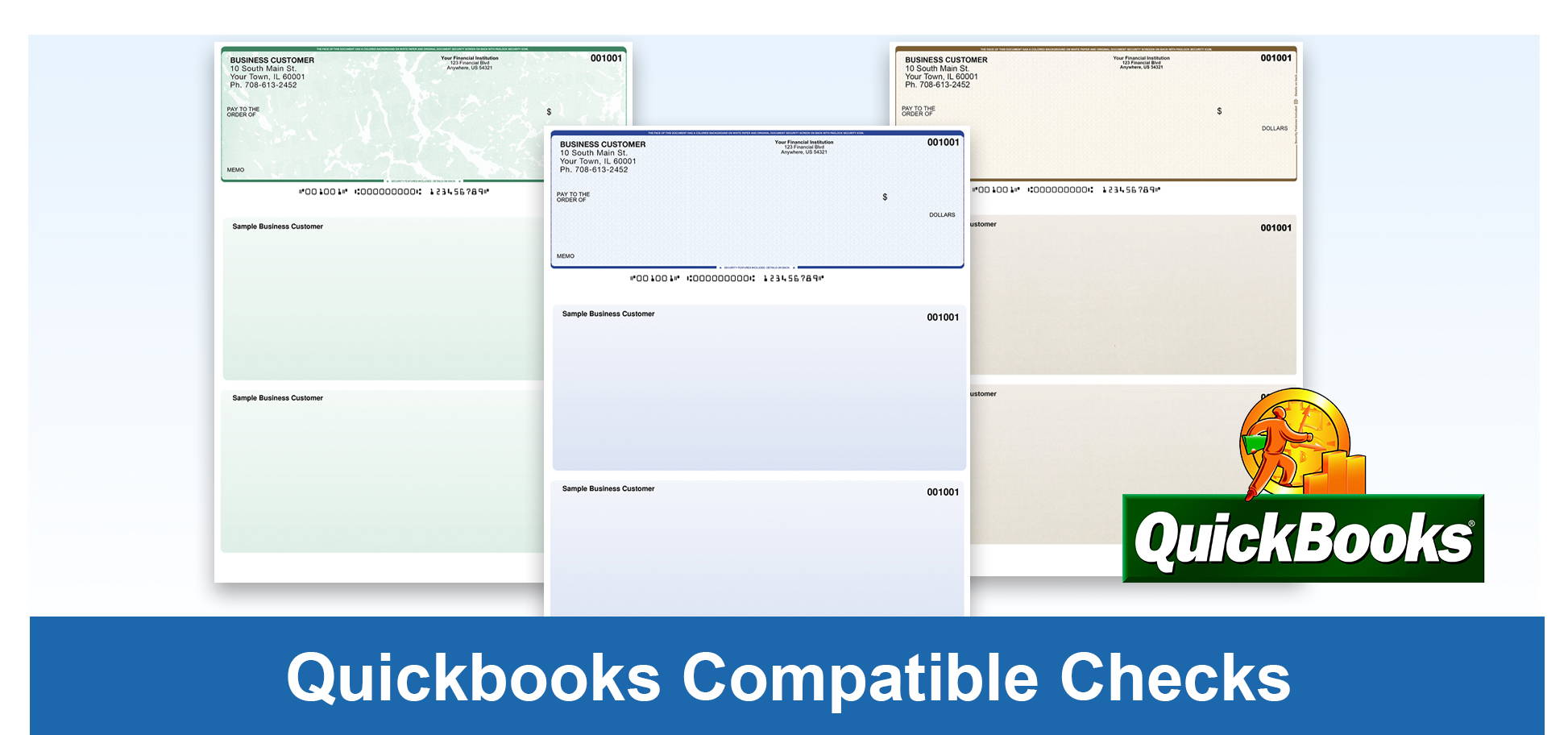 Quickbooks Compatible Checks