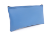 Light Blue Zipper Bank Bag 5.5 X 10.5 | CUR-015
