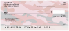 Camouflage - Pinks And Corals Personal Checks | MIL-27