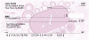 Stylish Monogram 'X' Personal Checks | MONO-03X