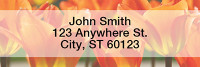 Tulips Narrow Address Labels | LRNAT-06