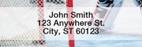Hockey Narrow Address Labels | LRSPO-10