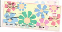 Flower Power Side Tear Personal Checks  | STNAT-09