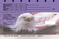 American Eagle Pride Top Stub Personal Checks | TSEVC-21