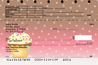 Cupcakes Top Stub Personal Checks | TSFOD-53