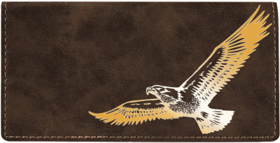 Soaring Eagle Engraved Leather Cover | CLE-00010