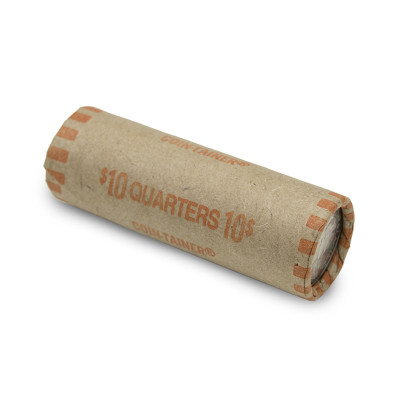 Preformed Quarter Coin Wrappers | CPW-004