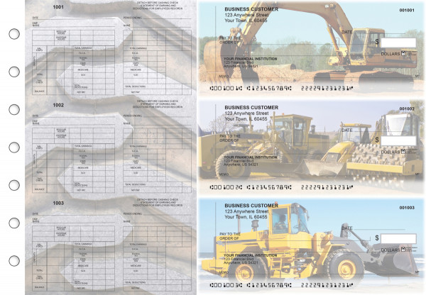 Construction Multi-Purpose Counter Signature Business Checks | BU3-7CDS10-MPC