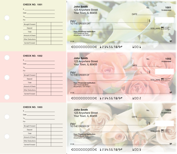 Florist Designer Deskset Checks | DS-CDS18