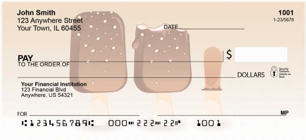 Ice Cream Personal Checks | FOD-54