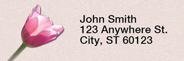 Be Loving Rectangle Address Labels | LRRNAT-11