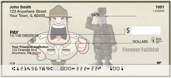 Marine Fun Personal Checks | MIL-34