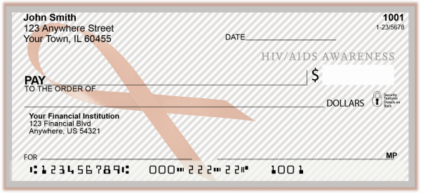 HIV/Aids Awareness Personal Checks | RIB-18