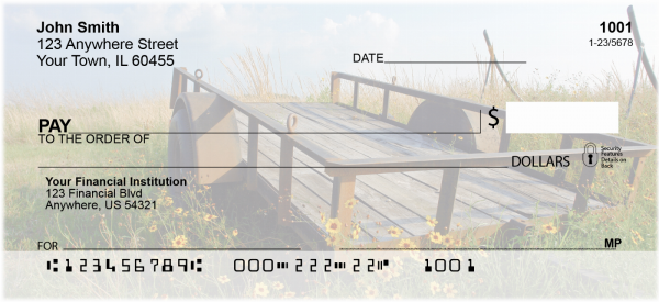 Countryside Treasures Personal Checks | SCE-34