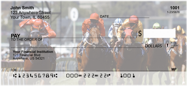 Horse Racing Personal Checks | SPO-08